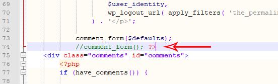 Thêm thẻ đóng php để khung bình luận hoạt động